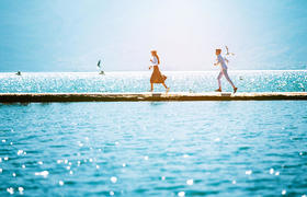 龙墨印象—洱海  静候时光|大理洱海婚纱照