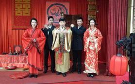 汉式婚礼 传统礼仪文化的洗礼