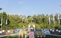 巴厘岛卡曼达鲁山谷水台婚礼
