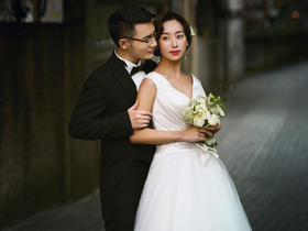 【街拍婚纱】天使嫁期婚纱摄影套系8988