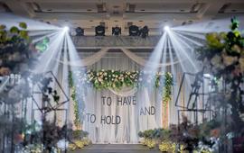 组工大厦 :北欧风轻森系主题婚礼