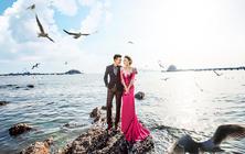 青岛旅拍特惠2999一价全包+豪华游艇+海景沙滩