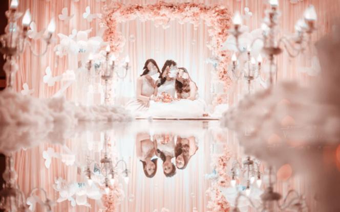 【粉色浪漫樱花主题婚礼】热门套餐 预订率100%