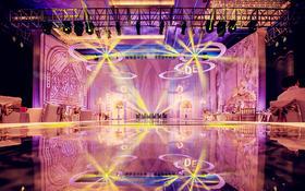 紫色系主题婚礼,给你高贵与梦幻