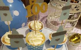 百日宝宝宴 甜品台布置
