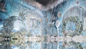 【达宇婚礼定制】蓝色冰雪世界里的爱情故事