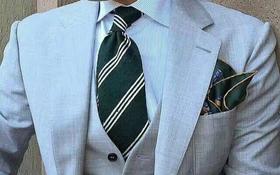 西服三件套   穿出不一样的个性帅气