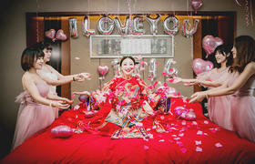 【团队作品】一场充满创意元素的传统&户外婚礼