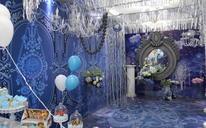 【简爱婚礼】18年大热 高贵典雅白蓝色系主题婚礼