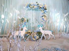 【台北*呈色婚礼】--梦幻蓝色系