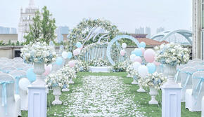 【户外小清新婚礼】预算内+专属冬季的海岛户外风