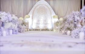白色韩式主题婚礼