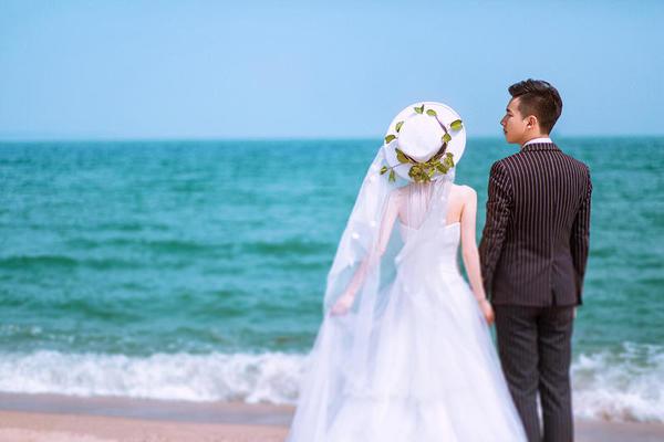 牵起你的手,一起去海边……MR徐&MISS吴