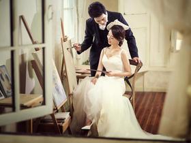 【柠檬树】清新韩式婚纱照