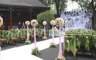 创意婚礼,浪漫清新的庭院婚礼