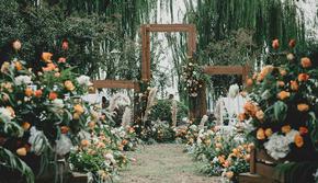 19年爆款户外婚礼小型婚礼首选