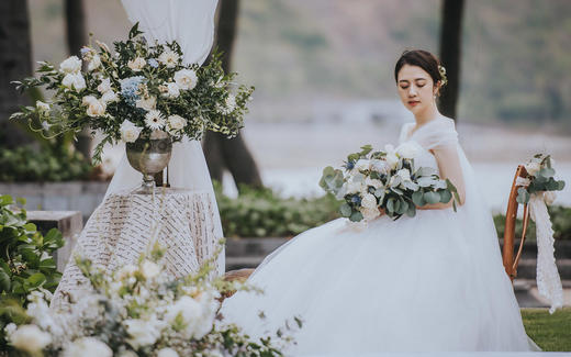 【缘鼎婚礼】白绿INS风婚礼