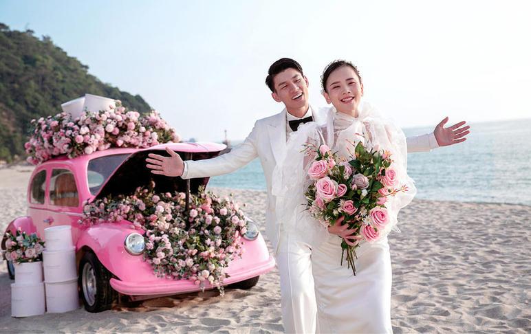 【费用全包】北海海景婚纱照+8套服装+酒店