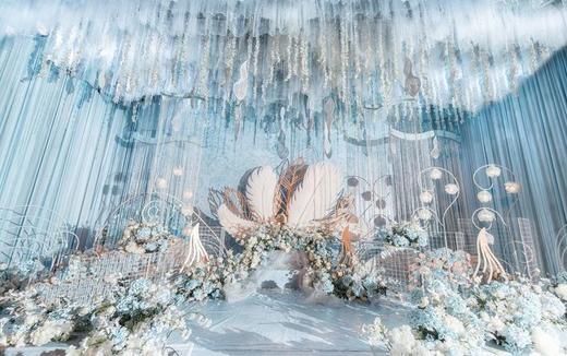 【 Blue 】细腻浅蓝婚礼清新海洋风