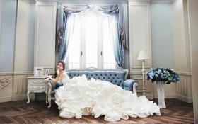 【赫拉宫邸】梦幻般的婚纱照,翻开相册,看到你的笑
