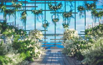 """巴厘岛 Alila""""鸟巢""""里的婚礼"""