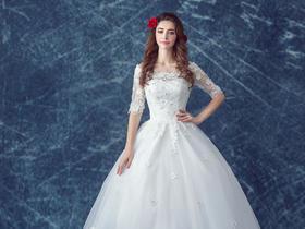 新娘婚纱礼服+新品浪漫风