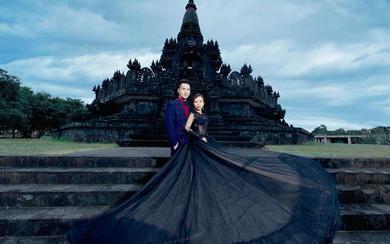 爱旅拍巴厘岛•客照欣赏•迷你婆罗浮屠