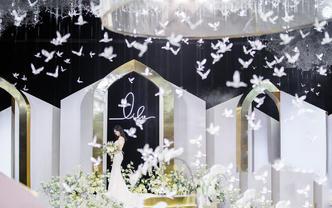 极简婚礼,总有一种高级感的魅力
