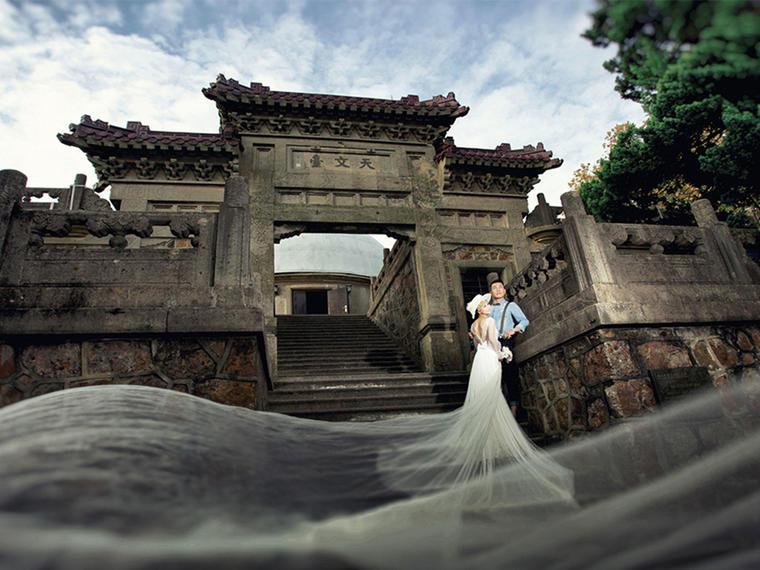 【雪中彩影】城垣古韵一对一特色复古婚纱摄影套系