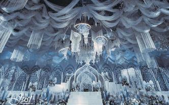 年度大热 婚礼高定场布微光