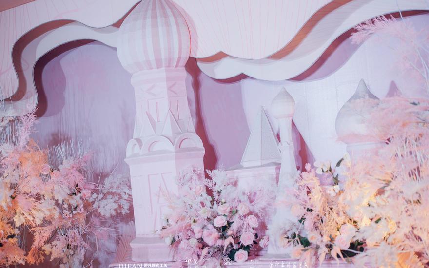 2019年10月14日(粉色城堡风)