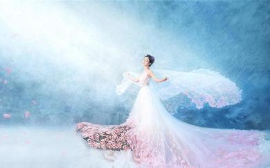【大视觉摄影】梦幻系——天使的嫁衣