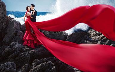 米兰时尚婚纱摄影.特约两地拍摄