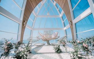 【诺丁山婚礼企划】唯美海边教堂婚礼·记今生