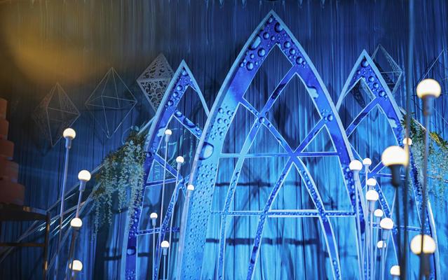 诺活策划·蓝色海洋风婚礼