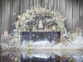 【缇爱沫】轻奢欧式婚礼系列之银光初雪