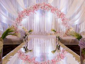 婚礼鲜花布置【花漾婚礼】网络婚博后惠套餐之二