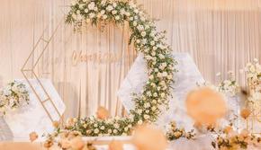 【六月婚礼】远洋宾馆-简约清新婚礼(含四大金刚)