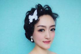 女王范新娘跟妆