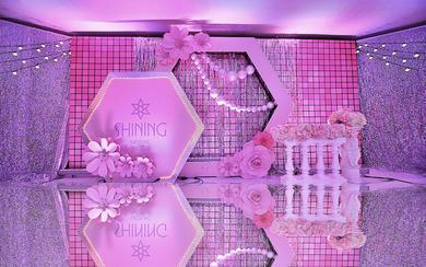 时尚设计感婚礼 Shining