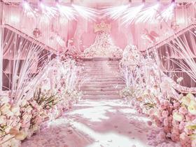 《DREAM》唯美粉色定制婚礼