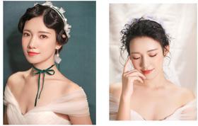 【小盒造型】全程新娘跟妆——创始人小盒+助理