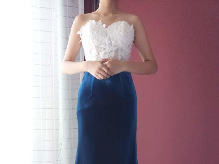 【野生雏菊】超值单件礼服绝对的气质迎宾宴会服