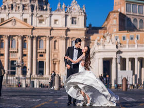 罗马假日 意大利婚纱摄影