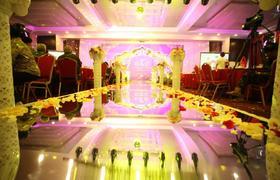 东方大酒店粉紫色婚礼