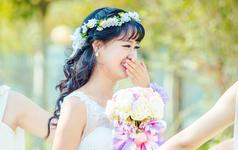 【诗莹时尚新娘造型】新娘,你只负责美
