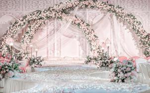 梦歌套系——四大金刚+舞台大气吊顶+婚礼策划全套