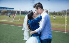 校园爱情主题婚照 大视觉客片