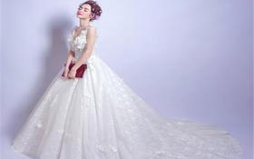 唯美新娘礼服