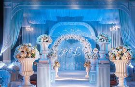 【LLAY艾莱婚礼】轻奢蓝色简欧婚礼